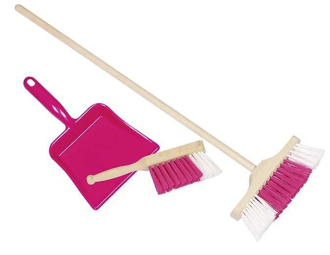 Smetáček, lopatka, smeták - růžový