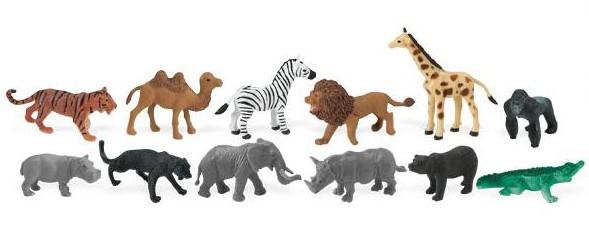 Zvířata z džungle