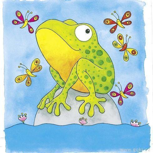 Žába - vývojové vrstvené puzzle
