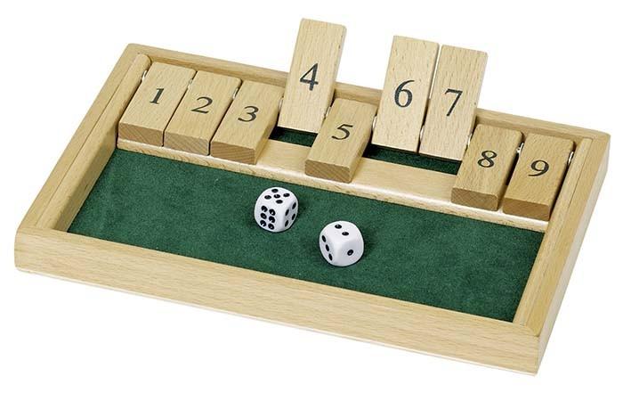 Cestovní hra - Shut the box II