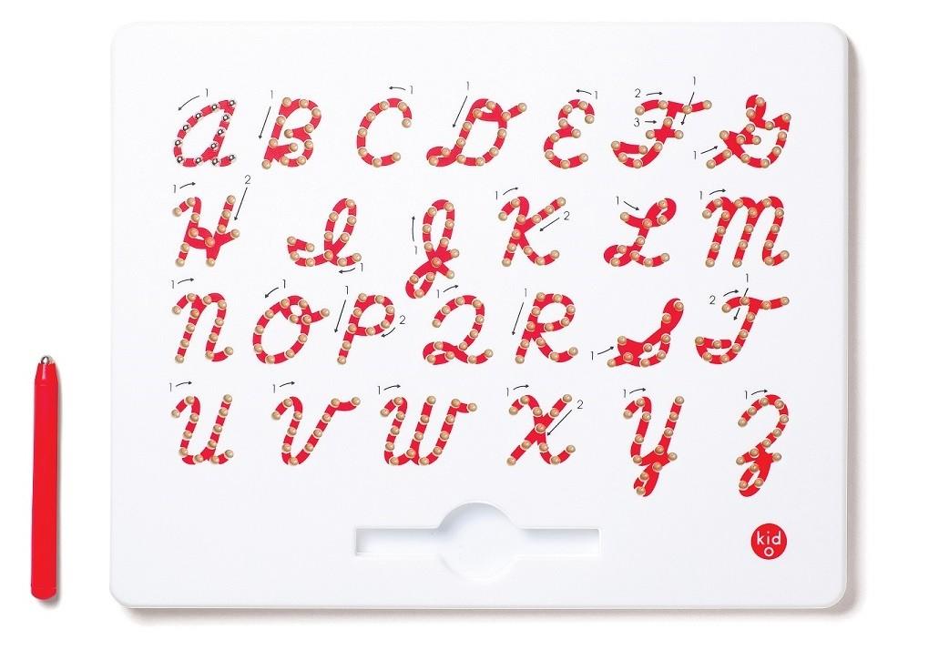 Magnetická tabulka - Velké psací písmo