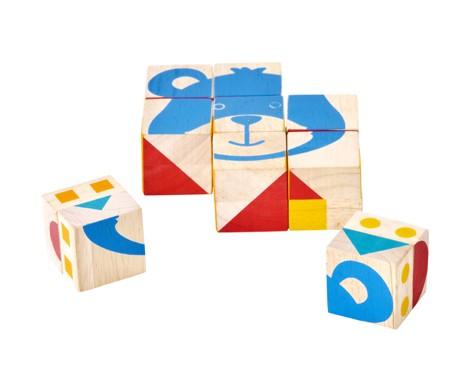 Obrázkové kostky - tvary