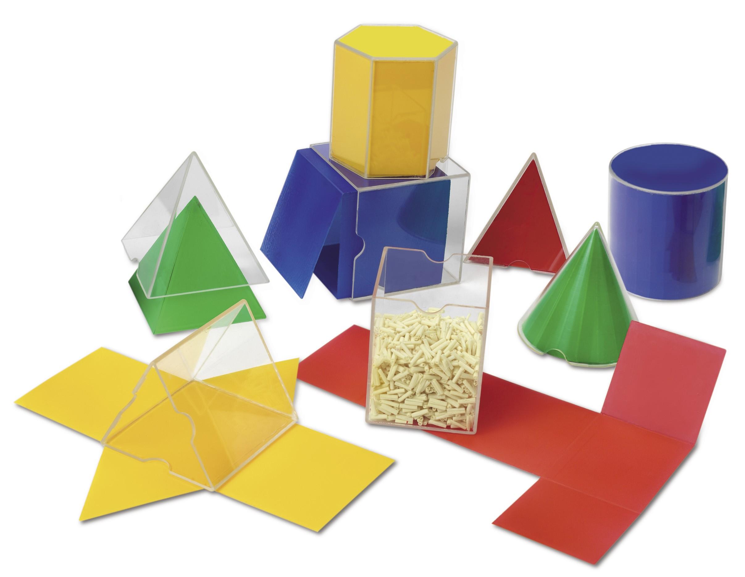 Skládací geometrické tvary