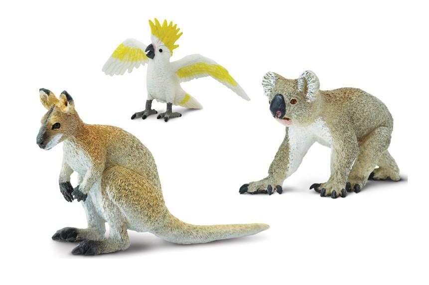 Zvířata Austrálie (3 ks)