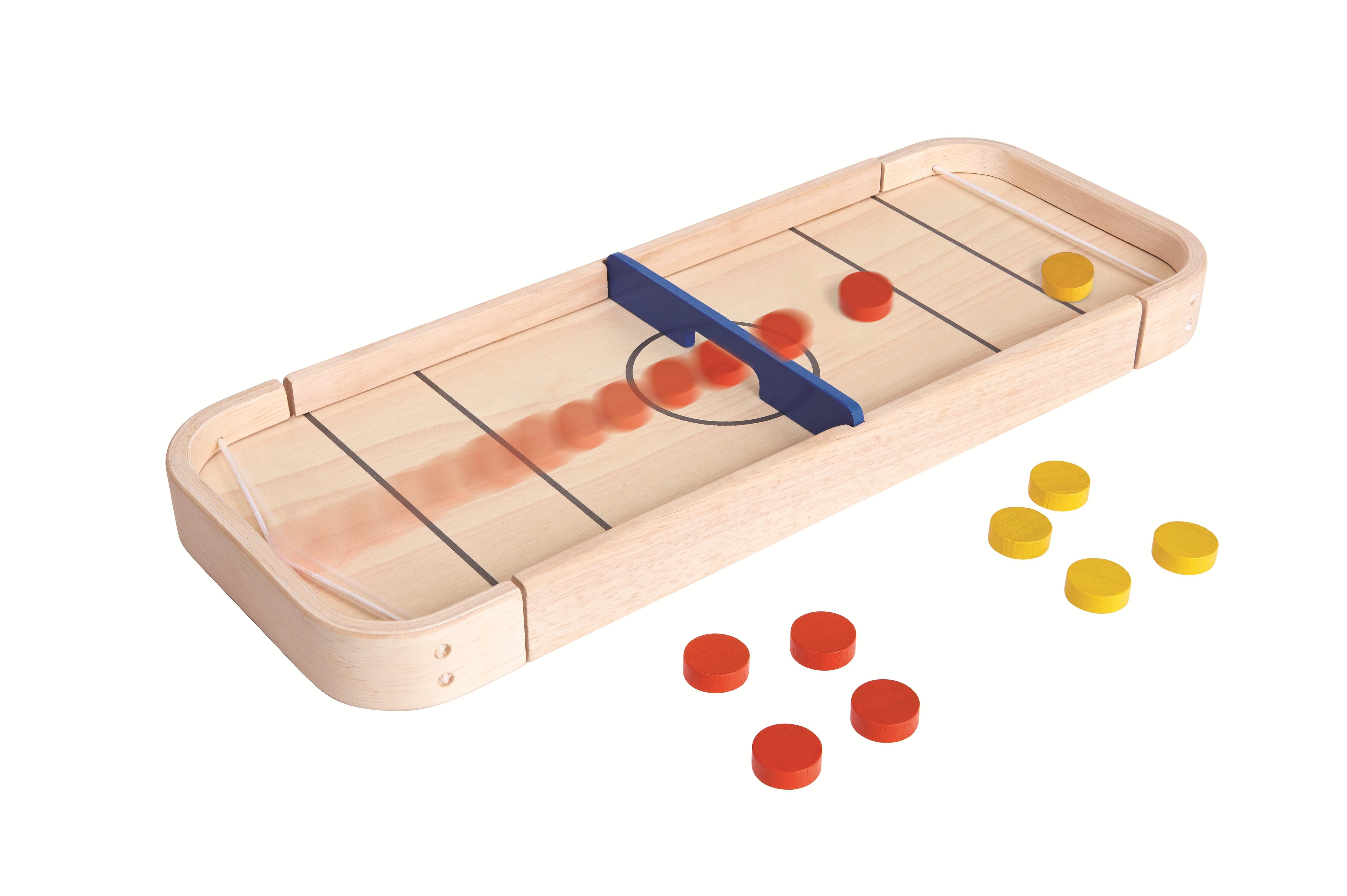 """Shuffleboard dřevěná stolní hra """"PlanLifestyle"""""""