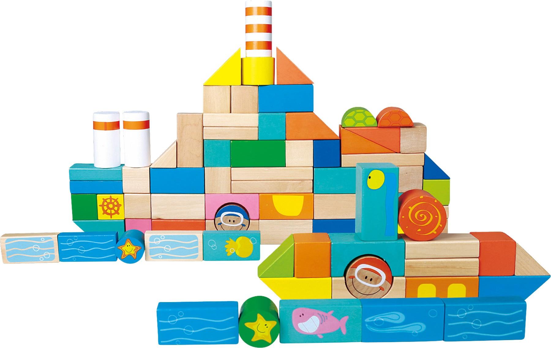 Stavební kostky - lodní doprava
