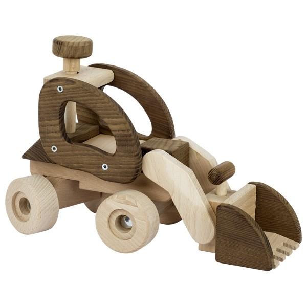 Dřevěný lopatový nakládač