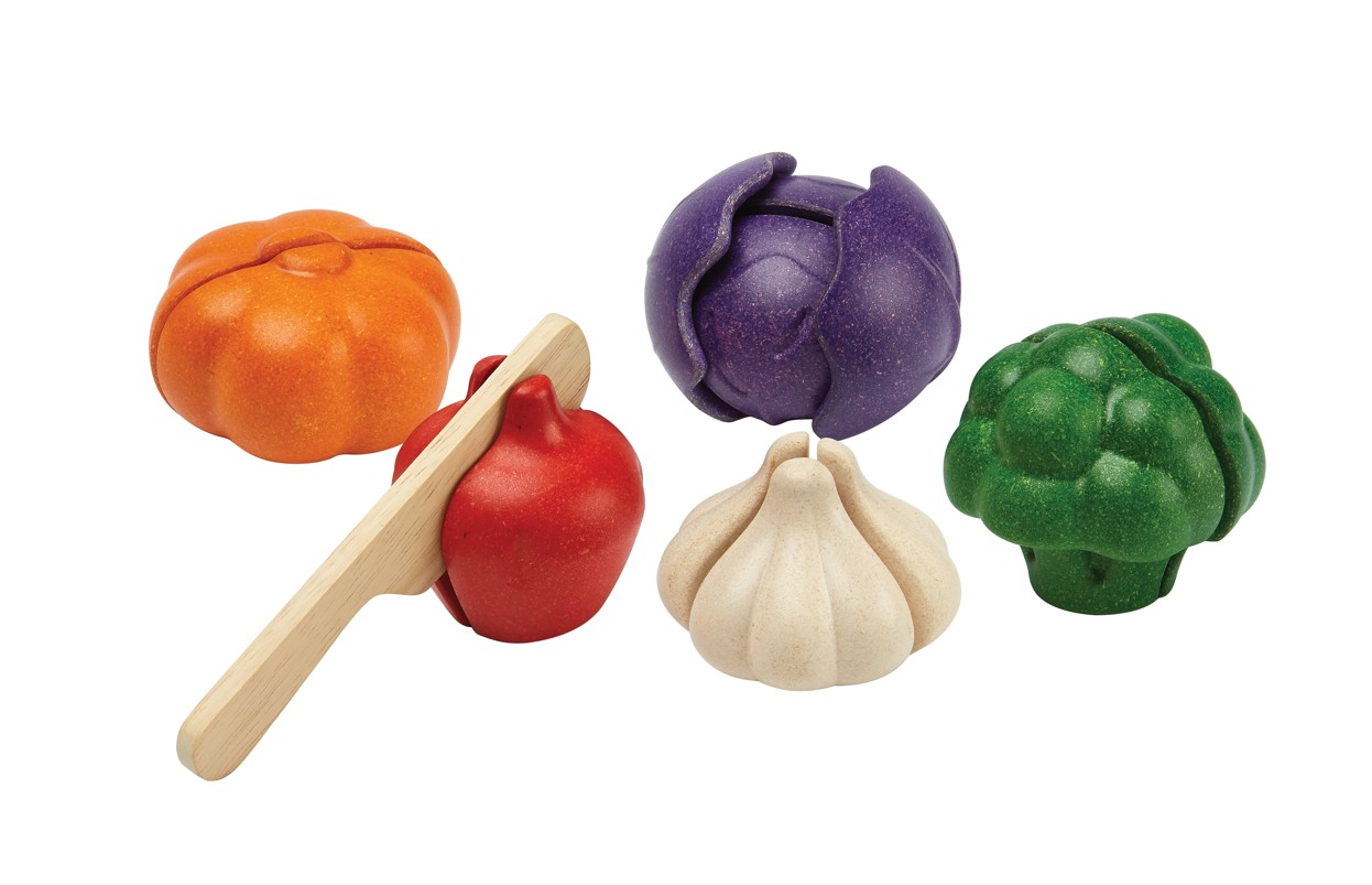 Sada zeleniny - 5 barev