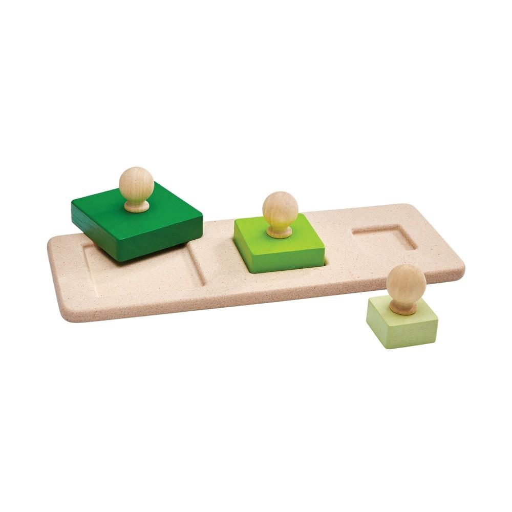 Puzzle - tři čtverce