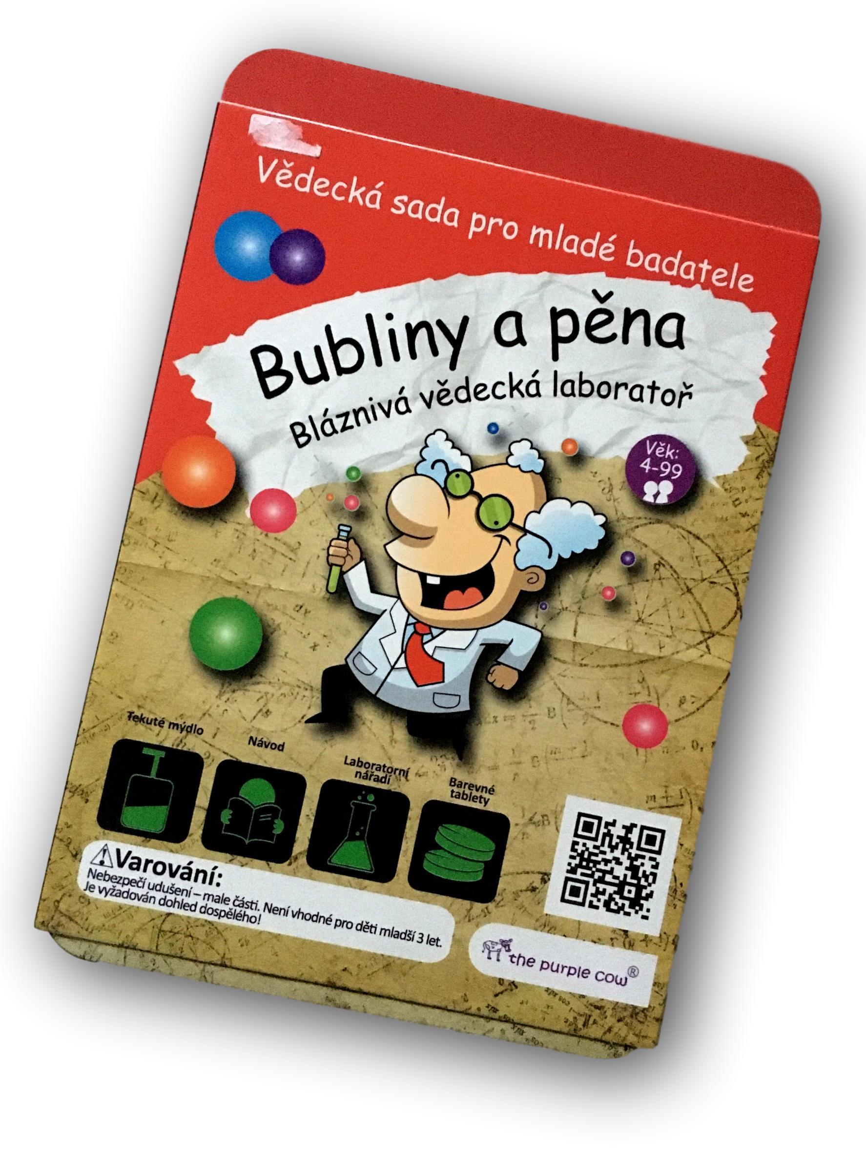 Bláznivá vědecká laboratoř - Bubliny a pěna