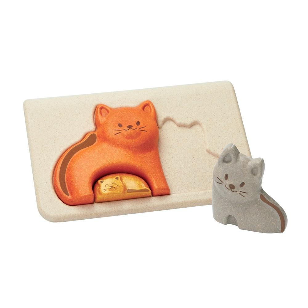 Puzzle - kočky
