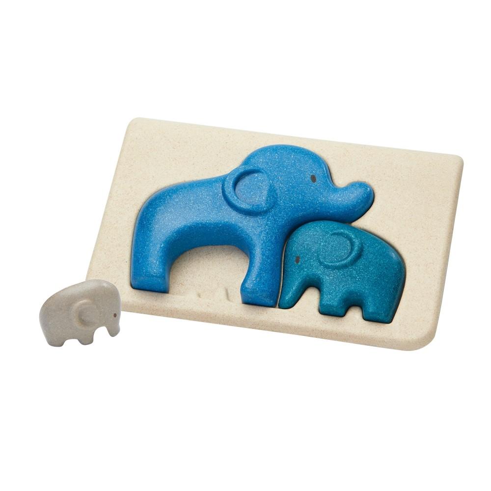 Puzzle - sloni