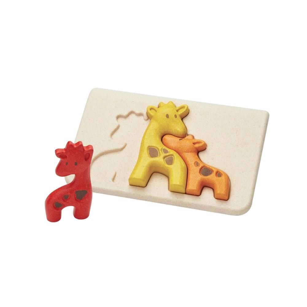 Puzzle - žirafy