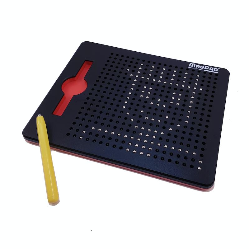 Magnetická kreslící tabulka Magpad - černá - 380 kuliček