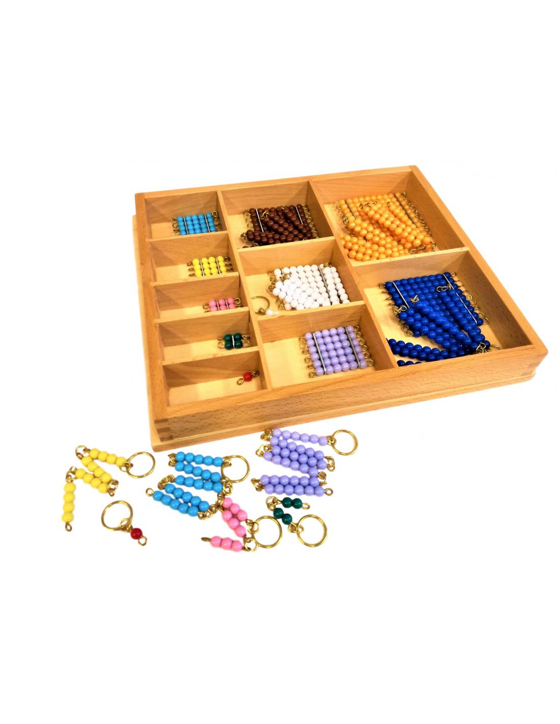 Krabička s krátkými řetězy