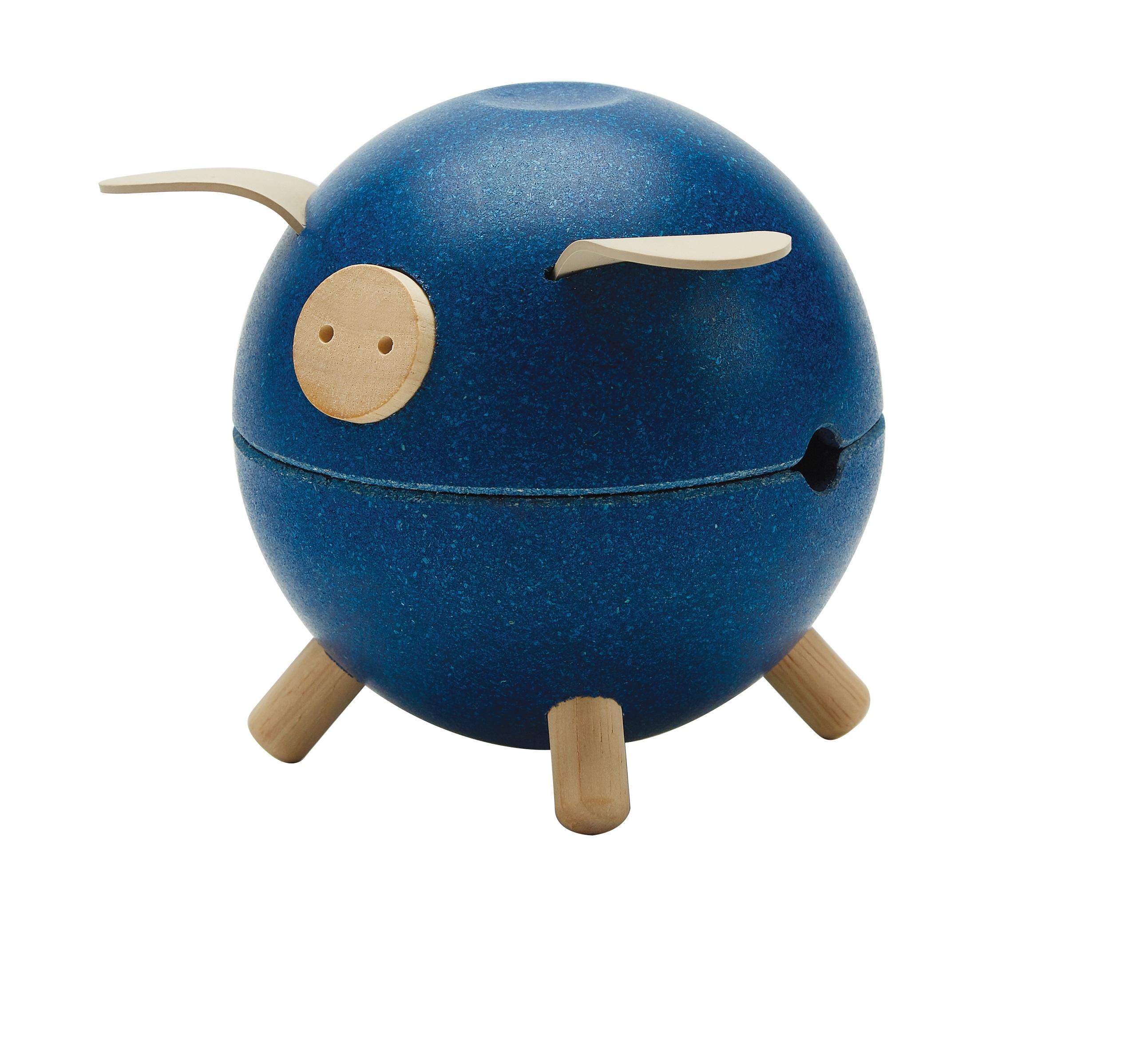 """Plan Toys Kasička - modré prasátko """"Orchard"""""""