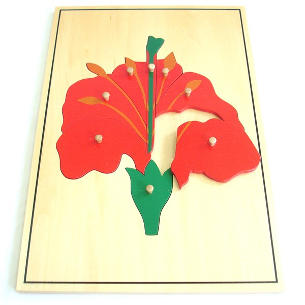 Puzzle - Velká květina