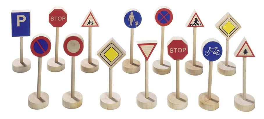 Dopravní značení, 15 dílů