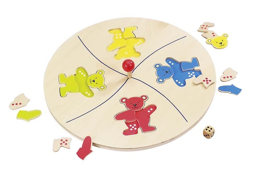 Stolní hra – Medvědí kolotoč